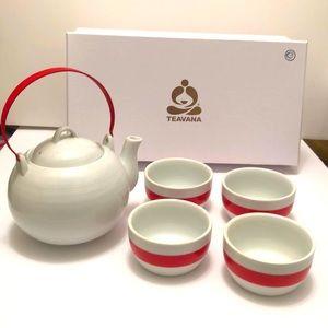 Teavana 5 Piece Teapot Set